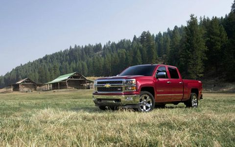 The redesigned Chevy Silverado 1500 pickup has gained some muscle for 2014.