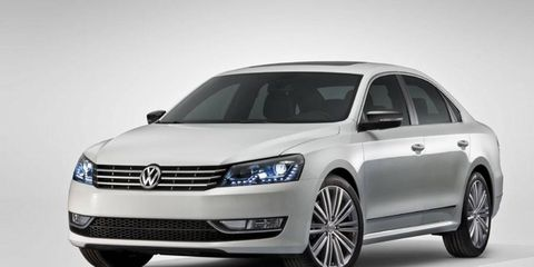 VW will introduce the Passat Performance Concept at the Detroit auto show.
