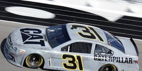 Jeff Burton led a Richard Childress Chevrolet charge to the top of the speed charts on Friday morning at Daytona.