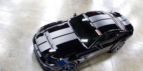 This 2013 Ford Shelby GT500 Mustang has more than 800 hp.
