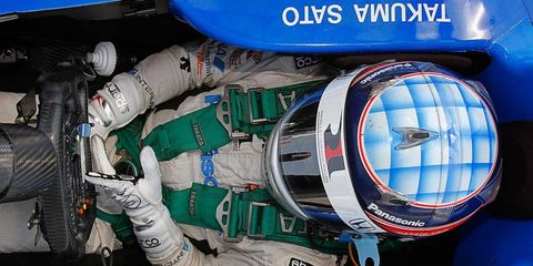 Takuma Sato is moving from Rahal Letterman Lanigan Racing to A.J. Foyt Racing.