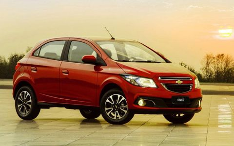 Chevrolet Onix - Small Hatchback Tailed for Brazil