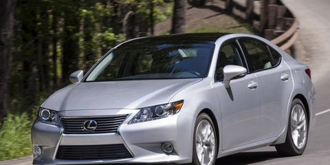The Lexus ES 350 is powered by a 3.5-liter V6 making 268 hp and 248 lb-ft of torque.