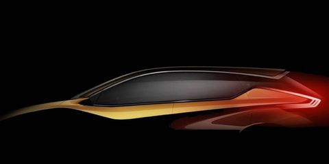 A preview of the Nissan Resonance crossover concept.