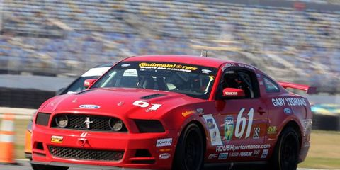 Billy Johnson and Jack Roush Jr. kicked off a big weekend of racing at Daytona International Speedway with a win in the Continental Tire Sports Car Challenge on Friday.