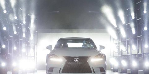 Lexus introduced the 2014 IS models at the Detroit auto show, they'll also come to Chicago.