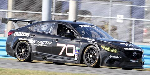 Mazda will field a diesel-powered Mazda6 sedan for this year's Rolex 24 race.