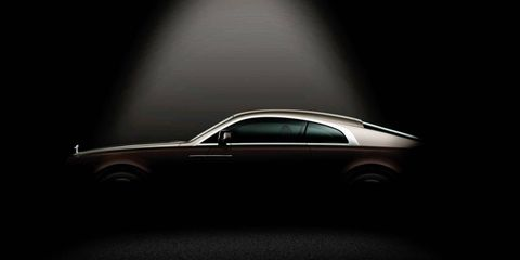 Rolls-Royce will debut the Wraith at the Geneva motor show.
