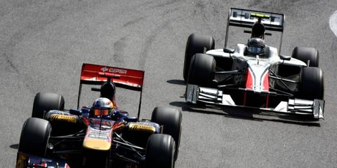 After being dropped by Toro Rosso at the end of the 2011 season, Sebastien Buemi took the job of reserve driver for Red Bull Racing. He's elected to stay in that position for 2013.