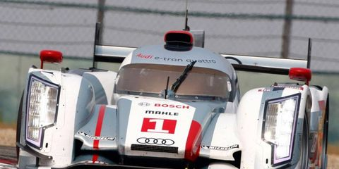 The Audi 18 e-tron quattros will be driven this season by Allan McNish, Tom Kristensen and Lucas di Grassi; and Benoit Treluyer, Marcel Fassler and Oliver Jarvis.