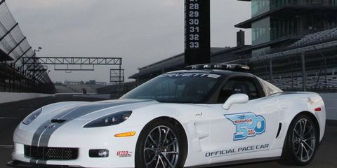 The 2013 Chevrolet Corvette ZR1 served as pace car for the 2012 Indianapolis 500. Will the Stingray get the honor this year?