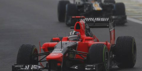 There is early speculation that Timo Glock may no longer be with Marussia.