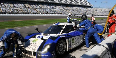 Michael Shank Racing was hit with the biggest fine in Grand-Am history after its Daytona Prototype was found to have an illegal engine.