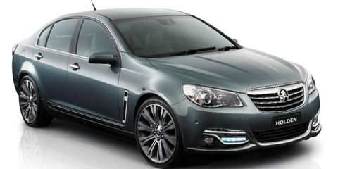 The Calais is the top version of Holden's Commodore sedan. It comes to the United States as the Chevrolet SS.