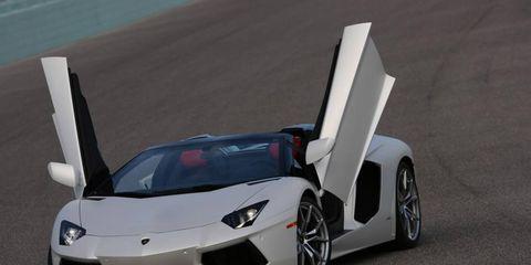 The Lamborghini Aventador Roadster press trip started in Miami.