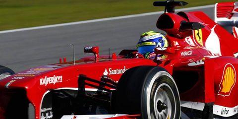 Ferrari's Felipe Massa was quickest at the Jerez test on Thursday.