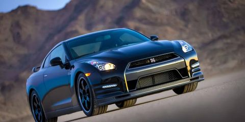 The 2014 Nissan GT-R Track Edition debuted at the Chicago Auto Show on Thursday.
