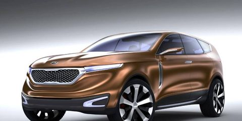 The Kia Cross was one of many reveals at the Chicago Auto Show.