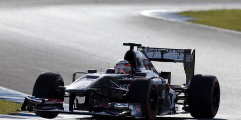 Nico Hulkenberg is happy with the way his new Sauber has been driving.