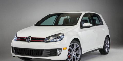 The 2013 Volkswagen GTI Driver's Edition was revealed at the Chicago Auto Show with the Beetle Turbo convertible R-Line.