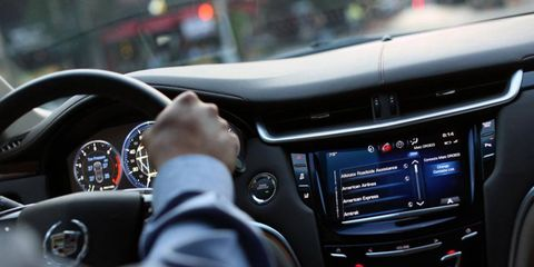 The Cadillac User Experience (CUE) infotainment system will see a significant update this spring.