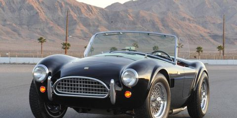 Ronald McQueen of Pennsylvania won this Shelby Cobra continuation car.