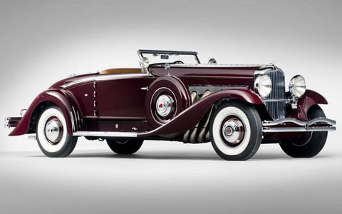 As the only 1935 Duesenberg Model SJ Walker-LaGrande Convertible coupe with a supercharged engine, this entry is incredibly rare.