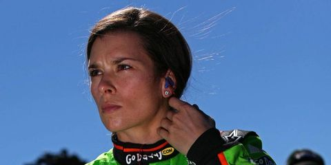 Danica Patrick, the first woman to win the pole for the Daytona 500, is also just the third woman to ever start the race.