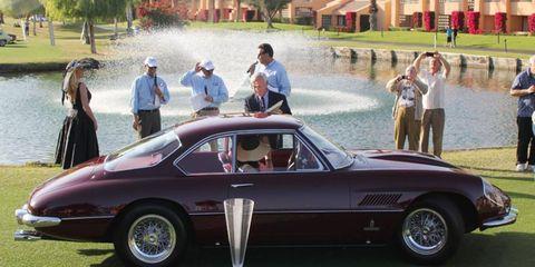 1963 Ferrari Superamerica Wins Best Of Show At Desert Classic Concours