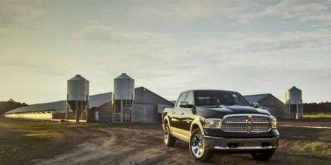 God made a farmer, and for 2014, Ram will give him a 3.0-liter V6 diesel-equipped 1500 pickup.