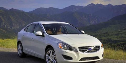 The 2013 Volvo S60 T5 AWD is powered by a 2.5-liter turbocharged I5 producing 250 hp.
