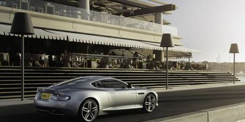 The Aston Martin DB9 received a recent refresh.