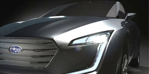 The Subaru Viziv Concept will debut at the Geneva motor show with the new Forester and an Outback diesel.