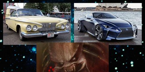 The 1961 Plymouth Fury, the Lexus spindle grille and the Predator: A connection formed across the unfathomable gulf of space?