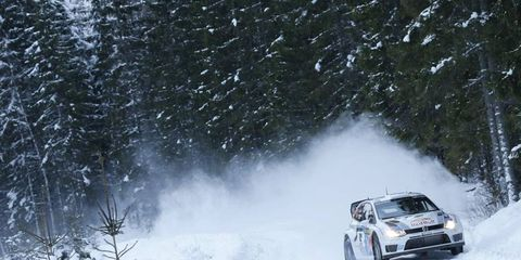 Sebastien Ogier raced to a victory in Rally Sweden, much to the delight of Volkwagen team boss, Jost Capito.