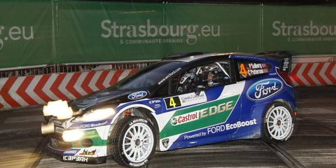 Petter Solberg had a great showing in Rally Sweden, winning the rally's historic division.
