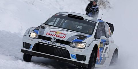 Sebastien Ogier won the first rally of the year with a victory at Rally Sweden.