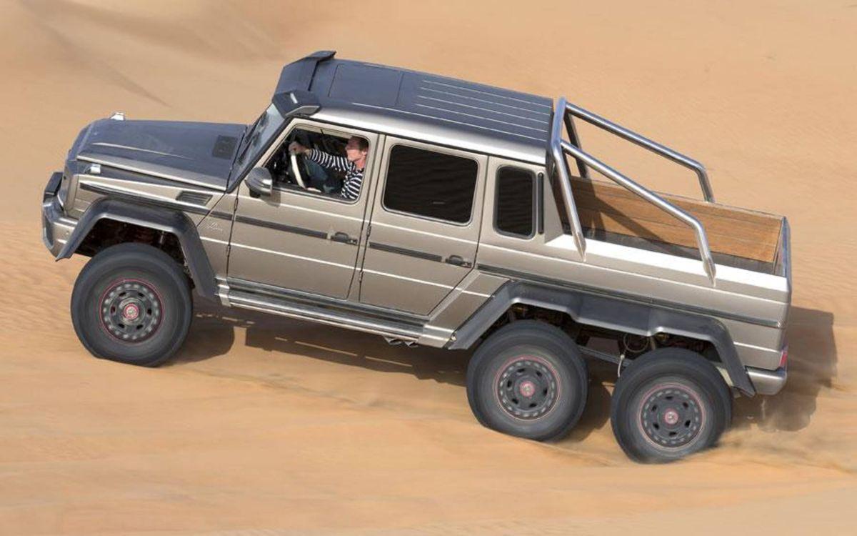 Mercedes Benz G63 Amg 6x6 Drive Review