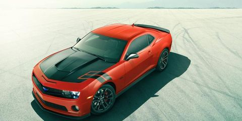 The Berger Chevy Camaro is for sale in west Michigan for less than $40,000.