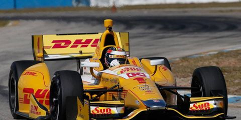 Defending IndyCar Series champion Ryan Hunter-Reay will have the target on his back this season.