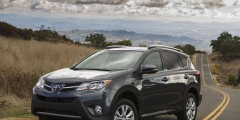 The 2013 Toyota RAV4 is redesigned to compete with popular small SUVs such as the Honda CR-V and Ford Escape.
