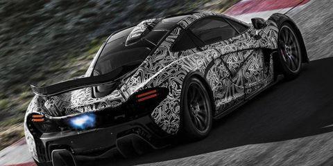 McLaren will reveal the P1 at the Geneva motor show.