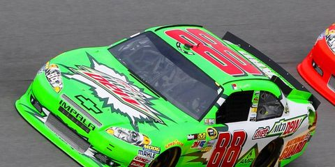 Despite being far-and-away the Sprint Cup series' most popular driver, Dale Earnhardt Jr. is still looking for sponsors.