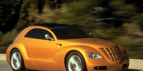 The Chrysler Pronto Cruizer concept car was awarded Most Fun by Autoweek editors in 1998.