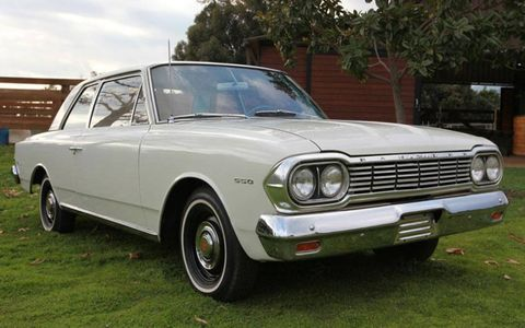 Former Michigan governor and AMC president George Romney once owned this pristine 1964 AMC Rambler two-door.
