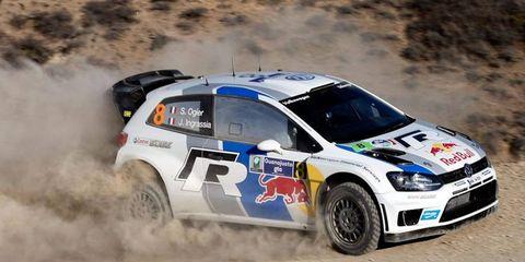 Sebastian Ogier still holds the lead in Rally Mexico.