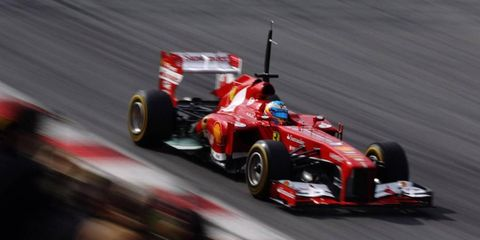 Fernando Alonso was one of several drivers who recently got a visit from the World Anti-Doping Agency.