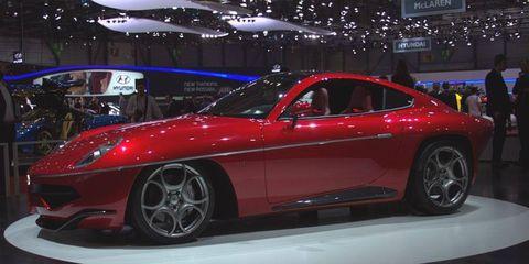 The Disco Volante is based on an Alfa Romeo 8C Competizione.