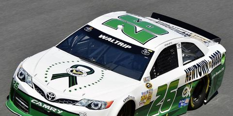At the Daytona 500, Michael Waltrip drove a car with a paint scheme that honored the victims of the Sandy Hook Elementary School shooting. It was recently announced that the National Rifle Association would sponsor a Sprint Cup race in Texas.