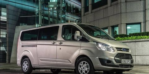 With sliding rear doors and seating for five, the Tourneo Courier is a fresh-looking family option.